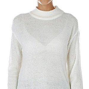 Pink Tartan Sweater Dress Tunic BNWT Large Ivory